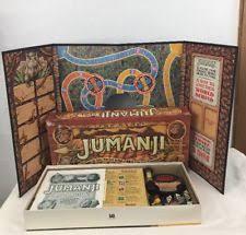 1995 Jumanji Board Game 100 COMPLETE W Instructions MB Milton Bradley Vintage