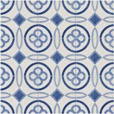 American Olean Unglazed Quarry Tile by Merola Tile Atelier Azul Marais 5 7 8 In X 5 7 8 In Ceramic