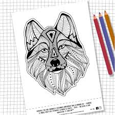 Coloriage Loup Mandala Luxe Nouveau Coloriage Mandala