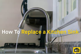 How To Change A Sink by How To Replace A Kitchen Sink Youtube