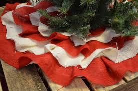 Seashell Christmas Tree Skirt by Burlap Christmas Tree Skirt Christmas Lights Decoration