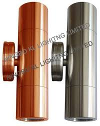 316 stainless steel or solid copper led wall light 316l stainless