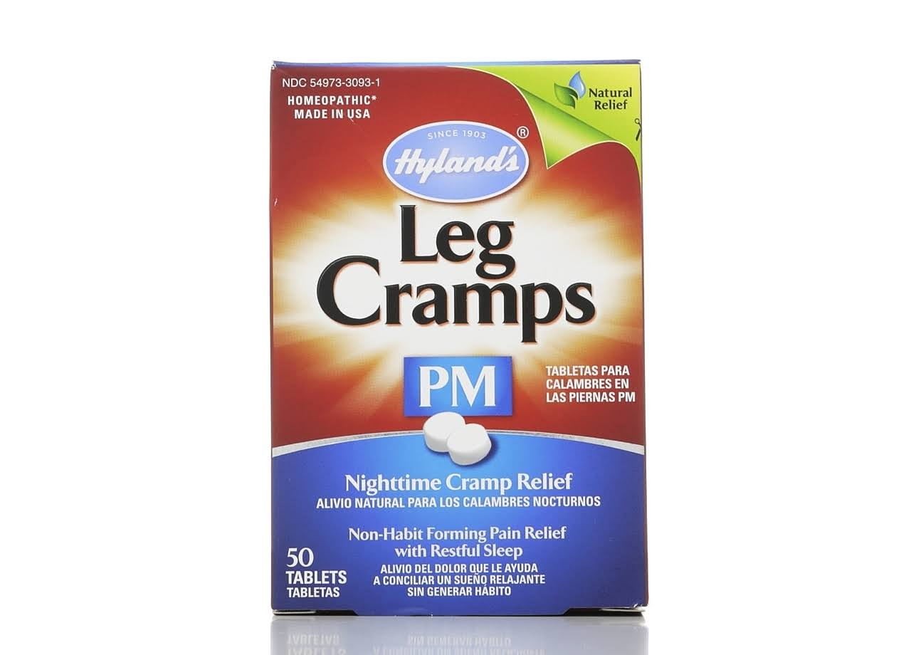 Hyland's Nighttime Leg Cramps PM Quick Dissolving Tablets - 50ct