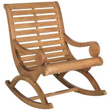 Safavieh Outdoor Living Sonora Teak Brown Rocking Chair ... Outdoor Garden Log Rocking Chair Adirondack Made Of Original Wood With Big Space Between Armrests Swivel Rocker Ding And Tall 35 Free Diy Plans Ideas For Relaxing In Buy Porch Cushion Set Fish Aqua Lagoon Extra Oversized Patio Fniture Living Home Resin Wooden Plastic Cushions Wicker Heavy Duty Chairs The Bet Plus Size Terrace House Beautiful Stock Photo Good Things Happened Rocker Why Its There And Amish Clearance Lounge Stools Box Discount Stores Miami