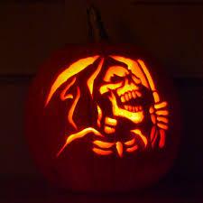 Free Headless Horseman Pumpkin Template by The Wrenn Family Pumpkin Carving Contest Results