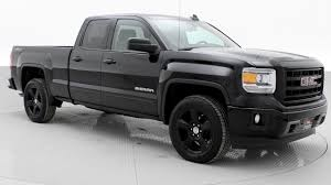 100 Blacked Out Truck 2015 GMC Sierra 1500 Blackout Nicest Used S In Winnipeg