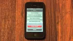 A How to Erase and Factory Reset an iPhone 4S 4 3GS 3G