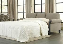 Milari Linen Queen Sofa Sleeper by Living Room Furniture Weekend Plus