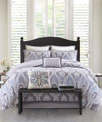 Echo Jaipur Bedding by Ivy Paisley Comforter Set Purple Echo Design
