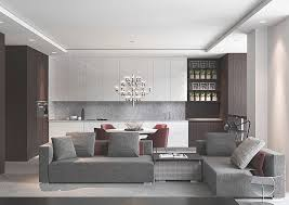 Apartment Dining Room Ideas With Modern Cabinet Kitchen Sets And Romantic Table Under Luxury Hanging Light Small Coffee On