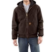 carhartt sandstone active jacket for men