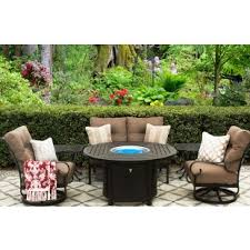 Cast Aluminum Patio Furniture With Sunbrella Cushions by Patioimport Tortuga Collections Heritage Outdoor Living