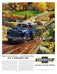 Chevrolet Trucks Advertising Art By Peter Helck (1950-1959) - Blog Chevrolet Truck Finder In Roseville Ca Mcloughlin Chevy Duramax Diesel Powering Up Chevrolets Fleet Of Gm Heritage Center Archive Trucks 1968 Celebrates 100 Years Torque Why Choose A Preowned Madison Wi New For 2015 Suvs And Vans Jd Power Used Cars Corpus Christi Autonation Usa 2018 Silverado 1500 Pickup In Stillwater Ok Wilson Lighter 2019 Offers 30l Fast Tough Fancy At 2013 Sema Show