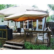 Cantilever Patio Umbrellas Sams Club by Sam U0027s Club Umbrella Replacement Canopy Garden Winds