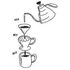 Coffee Pour Over Illustration