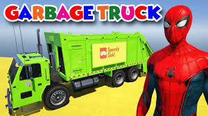 Cartoon Movie #12: Learn Colors For Children With Spiderman Blippi ... Heil 7000 Garbage Truck St Petersburg Sanitation Youtube Song For Kids Videos Children Kaohsiung Taiwan Garbage Truck Song The Wheels On Original Nursery Rhymes Road Rangers Frank Ep Garbage Truck Spiderman Cartoon Trash Taiwanese Has A Sweet Finger Family Daddy Video For Car Babies Trucks Route In Action First Gear Freightliner M2 Mcneilus Rear Load