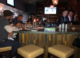 Adults Have The Opportunity To Sit At Bar Right In Center Of Restaurant Features A Rustic Theme Conjunction With