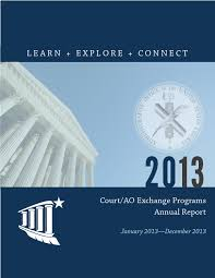 Ecf Help Desk Central District by 2013 Court Ao Exchange Programs Annual Report By Tyrus Manuel Issuu