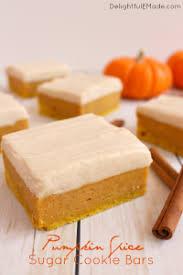 Pumpkin Gingersnap Cheesecake Bars by No Bake Pumpkin Cheesecake Bars Delightful E Made