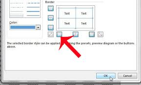 How To Change Cell Border Color In Excel 2013