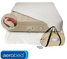 Aerobed Raised Queen With Headboard by Aerobed Opticomfort Queen Love Mum Inflatable Mattresses