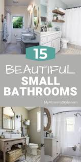 15 beautiful small bathrooms my style