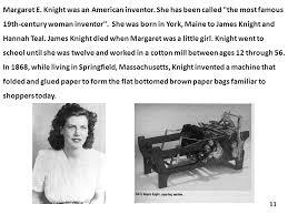 12 Margaret E Knight