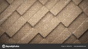 Abstract Brown Carpet Checkerboard Pattern Texture Background Rendered Stock Photo
