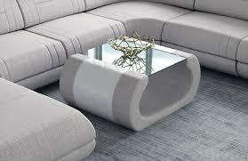 couchtisch design luxus wohnzimmertisch rimini stoff tisch