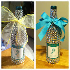 Decorative Wine Bottles Ideas by Diy Glitter Wine Bottle Alcohol Bottles Alcohol And Bottle