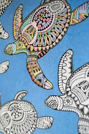 Adult Coloring Book Antistress Creative Therapy Hannah Davies