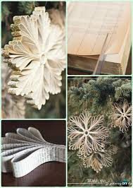 Christmas Tree Books Diy by Diy Paper Christmas Ornament Collections With Instructions