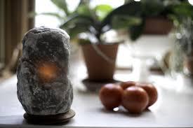 Large Pyramid Salt Lamp by Rare Grey Salt Lamps U2013 So Well