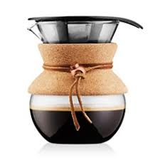 Bodum 17oz Cork Pour Over Coffee Maker
