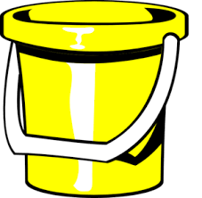 Yellow Bucket Clip Art