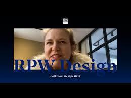 bathroom design week rpw design