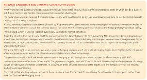 Dynamic Value Annual Financial Risk The Right For Dynamic Currency Hedging Qic