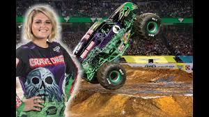 Grave Digger Girl Krysten Anderson Monster Jam Monster Truck Arena ... Not Ready To Be A Fulltime Parent Foster Petthursday Kiss Monster Jam Mpls Dtown Council Worlds Youngest Pro Female Truck Driver 19year Old Funky Polkadot Giraffe Monster Jam Returns To Angel Stadium Of First Female Grave Digger Driver With Comes Des Moines Wkforit Apparel Featured Athletes Pedal The Metal Arc Magazine The No Joe Schmo Rosalee Ramer Women Drivers Bsmaster Builds Her Own Rides Youtube