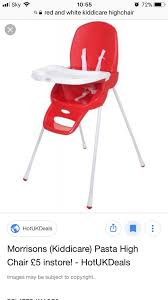 Red And White Highchair In Mount Pleasant For Free For Sale ... Go With Me Uplift Portable High Chair Childhome Evolu One 80 Highchair Naturalwhite Quax Allinone Ultimo 3 White Petit Bazaar 2 In 1 Evolu One80 Anthracite 1st Birthday Boy I Am Banner Am Graco Blossom 4in1 Rndabout Unboxing And Setup Decoration Ideas First Party Decor High Herringbone Compact Wild One Ingenuity Trio Smart Clean 3in1 Aqua