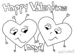 Free Coloring Pages For Valentines Day