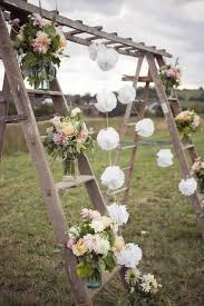 Gorgeous Rustic Wedding Ladder Decoration Ideas