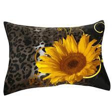 J Queen Valdosta Curtains by 3d Sunflower Leopard Printed Cotton 4 Piece Black Bedding Sets