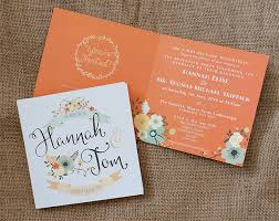 Rustic Floral Invitations For A Countryside Wedding
