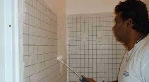 peindre du carrelage mural de cuisine peinture carrelage mural cuisine peindre faïence de salle de bain