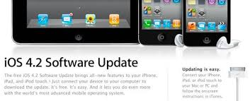 iOS 4 2 Download Available