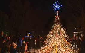Most Common Christmas Tree Types by America U0027s Best Towns For The Holidays Travel Leisure