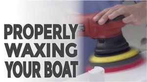 Zep Floor Polish On Fiberglass by Properly Waxing Your Boat Youtube