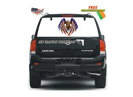 Patriotic American Eagle Rear Window Graphic Tampa Fl Mobile Advertising Rear Window Truck Graphics For Ford Graphic Decal Sticker Decals Custom For Cars Best Resource Realtree Camo 657332 Related Keywords Suggestions Stairway To Heaven Nw Sign Solutions See Through Perforation Fort Lauderdale American Flag Better Elegant Vuscape Made In Michigan Chevy Fire Car Suv Grim Pick Up
