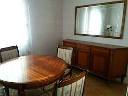 esszimmer tisch anrichte stühle kirschbaum antik np 3 200