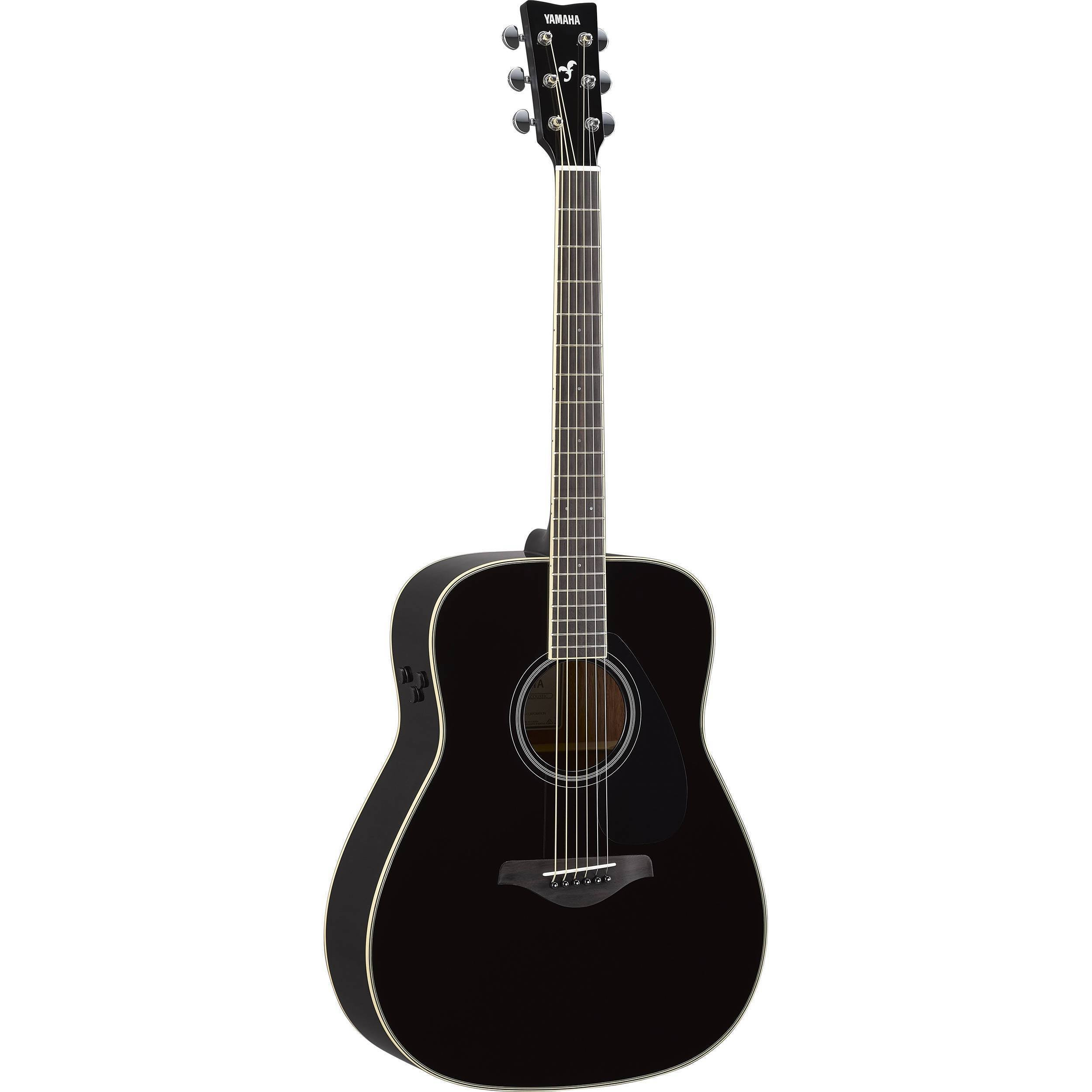 Yamaha FG-TA TransAcoustic Acoustic-Electric Guitar (Black)